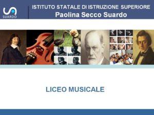 Presentazione Liceo Musicale